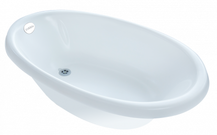 Ванна для купания Sobble venti marshmallow white