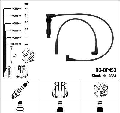 Комплект проводов зажигания NGK 0823