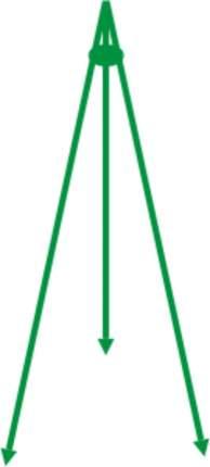 Подставка (3 колышка) РЕПКА TT600