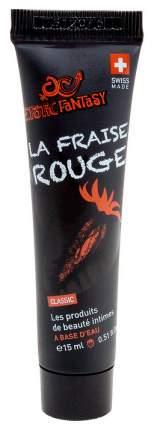 Гель-смазка Erotic Fantasy La Fraise Rouge с ароматом клубники 15 мл