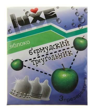 Презервативы Luxe Бермудский треугольник с ароматом яблока 3 шт.