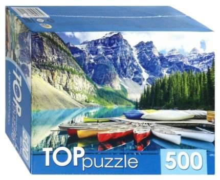 РЫЖИЙ КОТ Пазлы Toppuzzle. Альпийское озеро, 500 элементов ГИТП500-4210