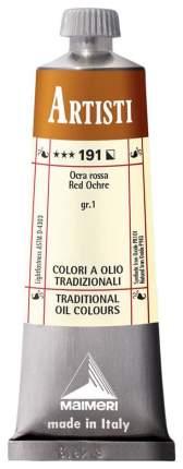 Масляная краска Maimeri Artisti охра красная 40 мл