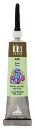 Акриловая краска Maimeri Idea Vetro По стеклу бронза M5302475 20 мл