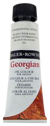 Масляная краска Daler Rowney Georgian белый 75 мл
