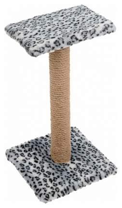 Когтеточка Зооник Пушок Зонтик Серый леопард 50 см