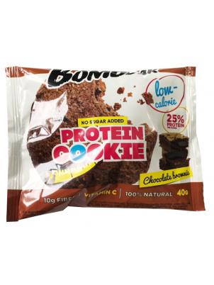 Bombbar Низкокалорийное протеиновое печенье 40g, Шоколадный брауни