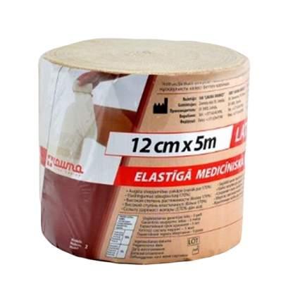 Бинт эластичный Lauma ВР 5 м х 12 см застежка