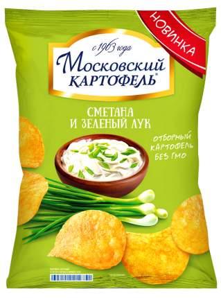 Чипсы картофельные Московский картофель сметана и зеленый лук 150 г