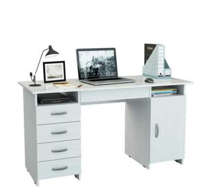Стол письменный с ящиком МФ Мастер Милан-7Я 60x143,6x75, белый