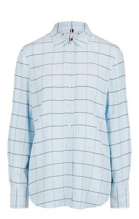 Блуза женская Tommy Hilfiger голубая 40