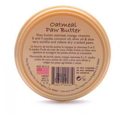 Масло для домашних животных Pet Head, для потрескавшихся лап, 50 г
