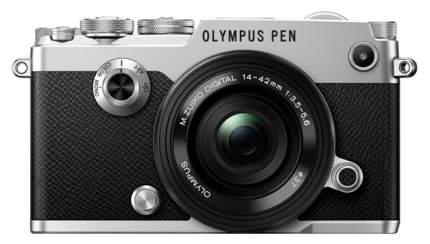 Фотоаппарат системный Olympus PEN-F Silver + 14-42mm Black Kit
