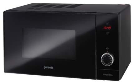 Микроволновая печь с грилем Gorenje MO6240SY2B black