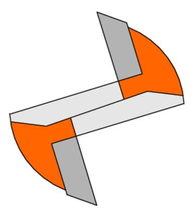 Фреза пазовая монолитная S=12 D= 6x19x60,3 CMT 911.560.11