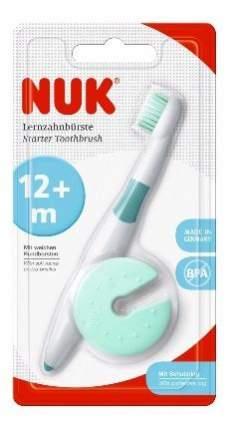 Nuk зубная щётка обучающая с защитным кольцом