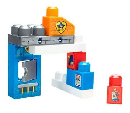 Mega bloks dyc56 мега блокс игровой набор полицейский участок