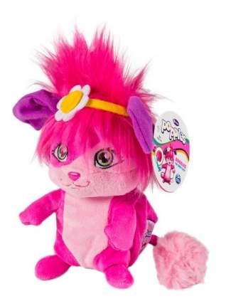 Мягкая игрушка Popples 56309-p Малыши-прыгуши 28 см сворачивается в шар (розовый)