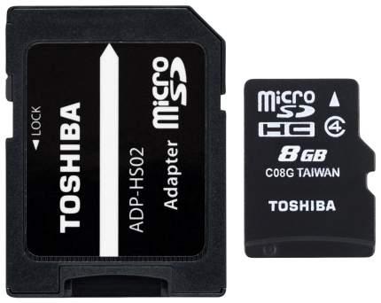 Карта памяти Toshiba Micro SDHC THN-M102K0080M2 8GB