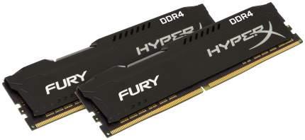 Оперативная память Kingston HyperX Fury DDR4, 2x8 Гб, 2400 МГц HX424C15FB2K2/16