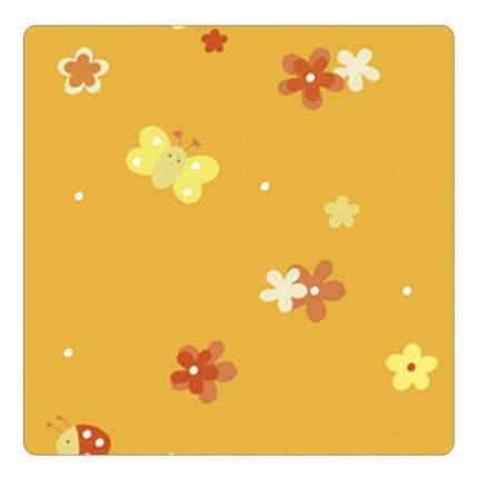 Подушка-трансформер для кормления Theraline Поляна оранжевая