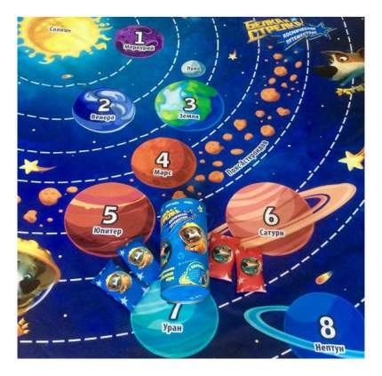 Семейная настольная игра Vay Toy Белка и Стрелка Космическое путешествие 700060