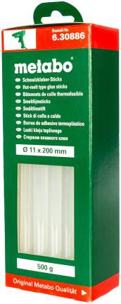 Клеевые стержни для клеевых пистолетов Metabo 630886000
