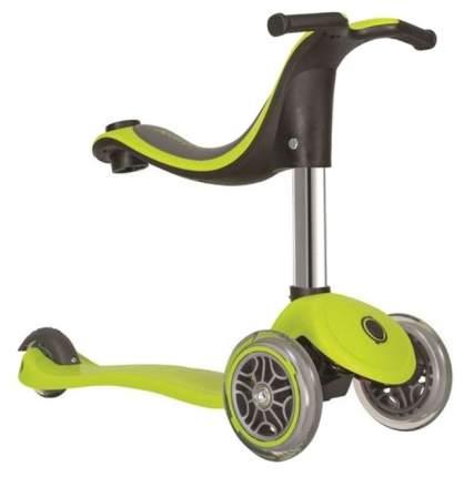 Велосипед Globber EVO 4 в 1 Lights со светодиодными колесами зелёный
