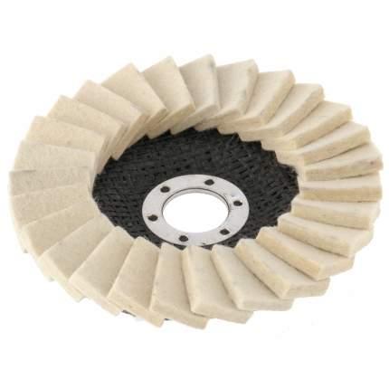 Круг полировальный для шлифмашин MATRIX 125 х 22,2 мм 75934