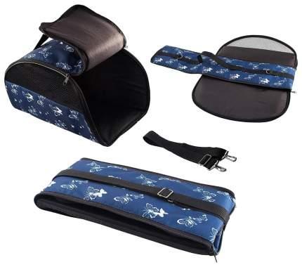 Сумка-переноска Дарэлл ЕСО 22x44x22см 9038 синий, черный