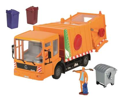 Машинка пластиковая Dickie Toys Мусоровоз Mercedes