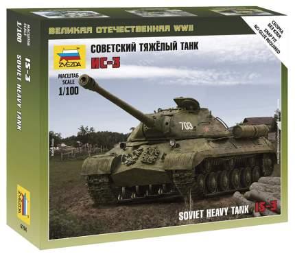 Модели для сборки Zvezda Советский тяжёлый танк ИС-3 6194