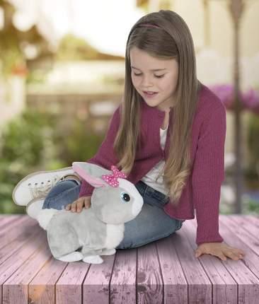 Кролик интерактивный Betsy реагирует на голос, прыгает и шевелит ушками
