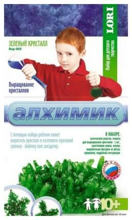 Набор для выращивания кристаллов Lori зеленый кристалл