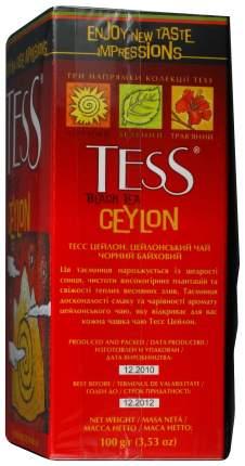 Чай черный Tess ceylon листовой 100 г