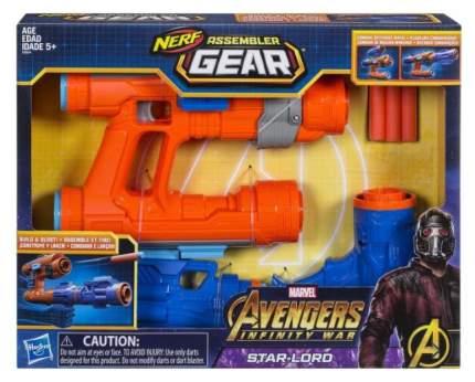 Бластер Hasbro Nerf Avengers Экипировка Звездного Лорда E0604