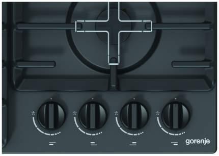 Встраиваемая варочная панель газовая Gorenje G641ZMB Black