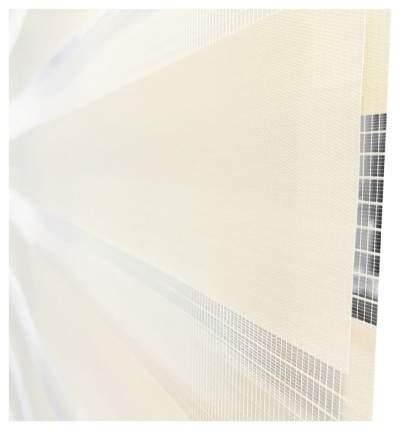 Рулонная штора Эскар День-Ночь 170х65 цвет молочный