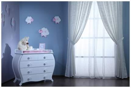 Комод Лель с пеленальным столиком БИ 222 Сапфир, Белый