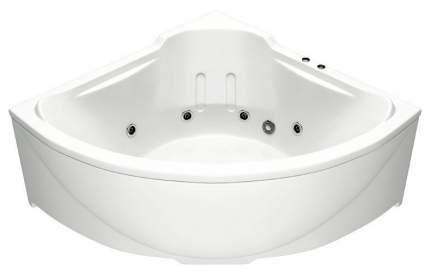Акриловая ванна BAS Ирис 150х150 c гидромассажем FLAT