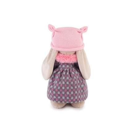 Мягкая игрушка BUDI BASA Зайка Ми в пальто и розовой шапке 25 см