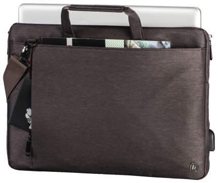 """Сумка для ноутбука 13.3"""" Hama Manchester коричневая"""