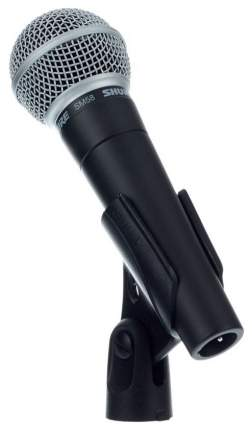Кардиоидный динамический вокальный микрофон Shure SM58-LCE (Black)
