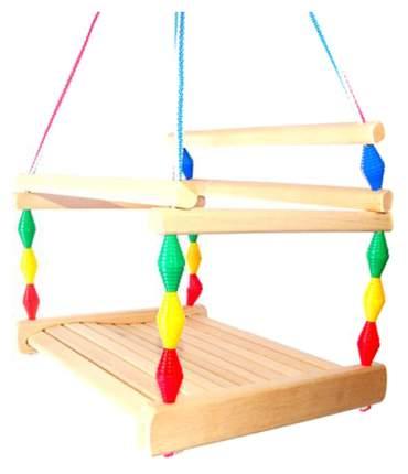 Качели детские Деревянные игрушки - Владимир подвесные Волна деревянные
