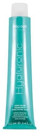 Краска для волос Kapous Professional Hyaluronic Acid 10.0 Платиновый блондин 100 мл