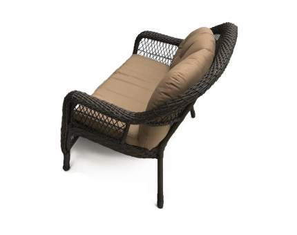 Плетеный диван LV520-1 Brown/Beige