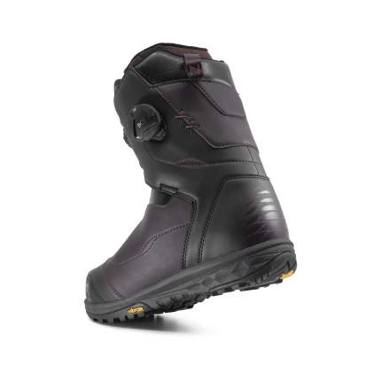 Ботинки для сноуборда Nidecker Lunar 2020, burgundy, 22.5