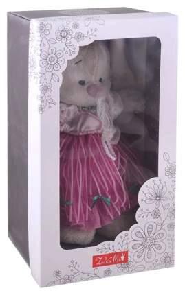 Мягкая игрушка «Зайка Ми барышня» в карамельно-розовом, 25 см Зайка Ми