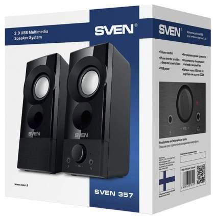 Колонки для компьютера Sven 357 Black