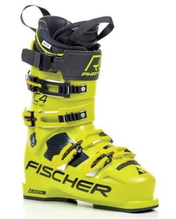 Горнолыжные ботинки Fischer RC4 Curv 140 Vacuum Full Fit 2019, yellow, 26.5